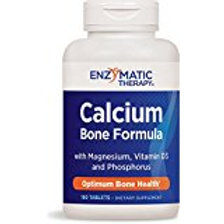 Enzymatic Therapy Calcium with Magnesium, Phosphorus & Vitamin D 180ea
