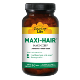 Country-Life,Maxi-Hair® (60-Tablet)