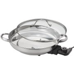 Aroma Electric Skillet, Stainless Steel