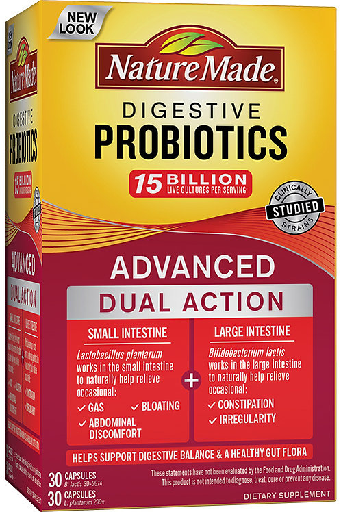 Digestive Probiotics Advanced Dual Action