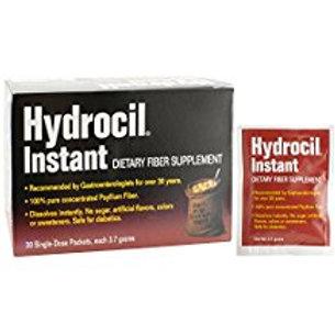 Hydrocil Instant Natural Fiber Laxative, 30 Count  Hydrocil