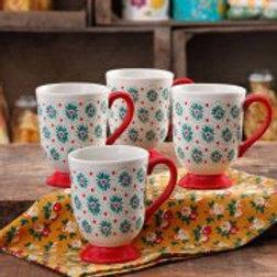 The Pioneer Woman 15.5oz Latte Mug, Set