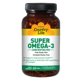 Country-Life,Super Omega-3 Concentrated