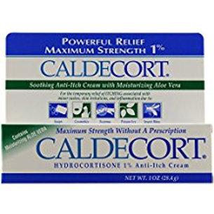 Caldecort Anti-Itch Cream With Aloe, 1 Ounce