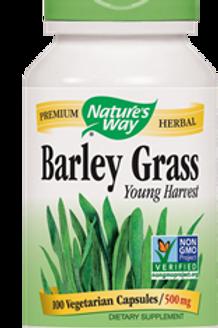 Natures Way Barley Grass Capsule, 500 Mg - 100 capsules