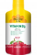Country-Life, Liquid Vitamin D3 5,000 I.U