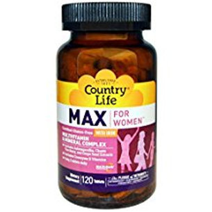 Country-Life,MAX FOR WOMEN™ Multivitamin and mineral complex