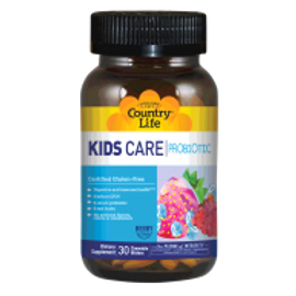 Country-Life, Kids Care Probiotic (30-Wafers)