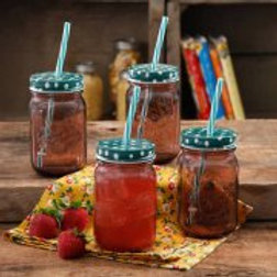 The Pioneer Woman Simple Homemade Goodness 16-Ounce Mason Jar with Timeless Flor