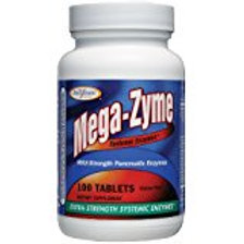 Enzymatic Therapy - Mega-Zyme 10x, 100 tablets