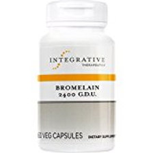 Integrative Therapeutics - Bromelain 2400 G.D.U - Proteolytic Enzyme for Protein