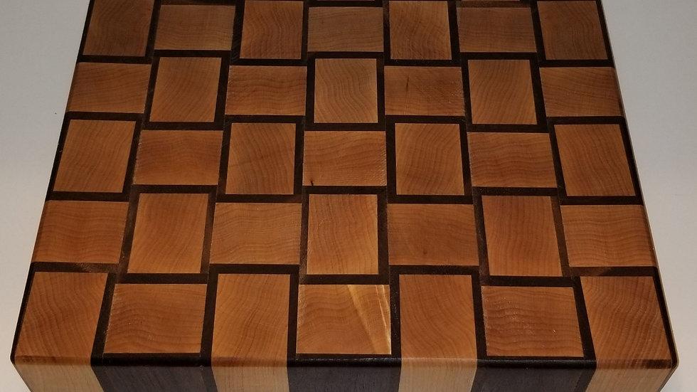 Basket Weave End Grain Cutting Board