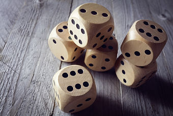 Rolling the dice concept for business risk, chance, good luck or gambling.jpg
