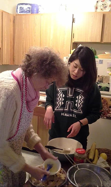 英語お料理教室
