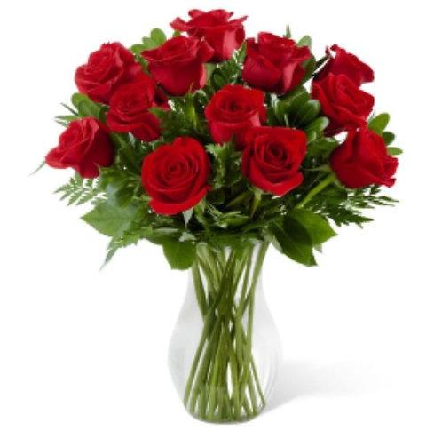Red Roses - Half Dozen
