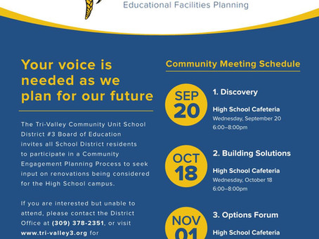 What's been happening with the Viking Vision community engagement meetings??