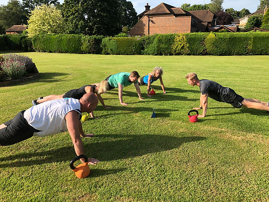 Group Personal Training Petersfield