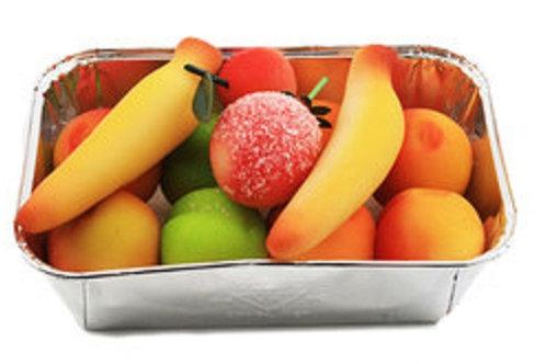 Delicious Marzipan Summer Fruit Box (250 Gr.)