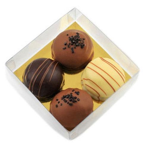 Chocolate mini Cakes Gift Box (box 4pc)