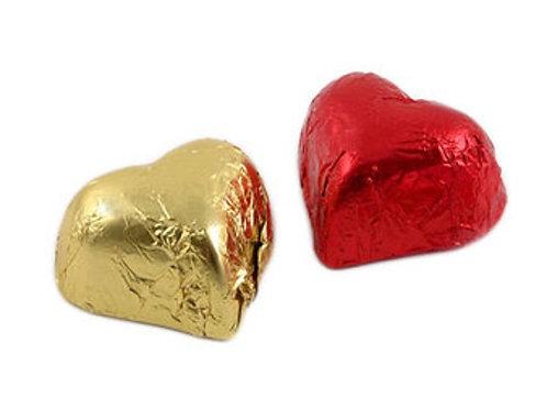 Red & Gold Hearts Milk Praline  (1,2KG)
