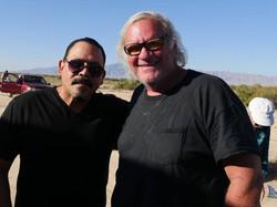 Emilio Rivera with EP Steve Lowry