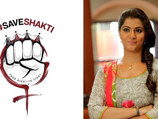 Actress Varalaxmi Saratkumar Launches Save Shakti Foundation Website Online