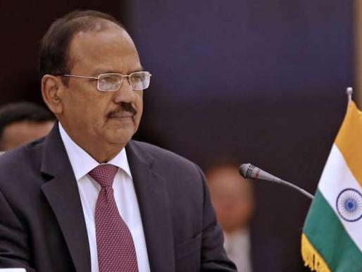 NSA Ajit Doval , Chinese Foriegn Minister  Wang yi held talks on LAC standoff ahead of Indian army