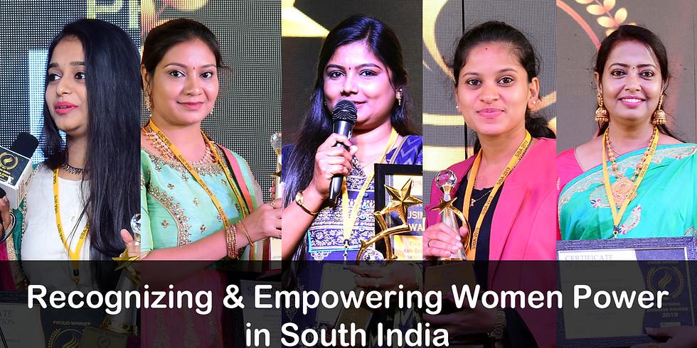 South India Women Achievers Awards 2019