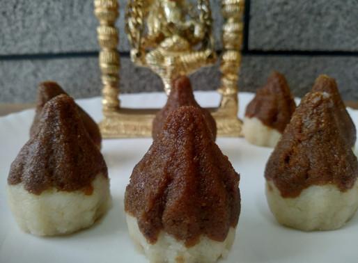 Dalgona Modak Recipe with Video by Sachus Kitchen Thrissur