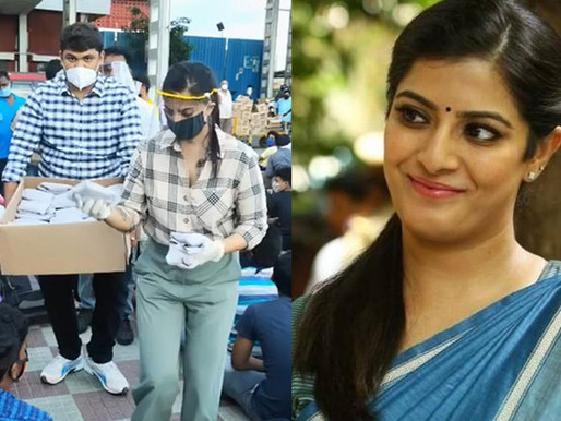Reel life villain to Real life Hero: Varlaxmi Saratkumar helps migrants relocate in Chennai