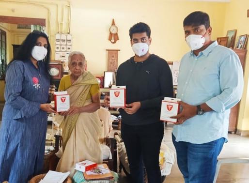 Maheshwara  Medical  College  & Hospital Distributes Free PPE  kits &  N95  masks to Tamil Nadu