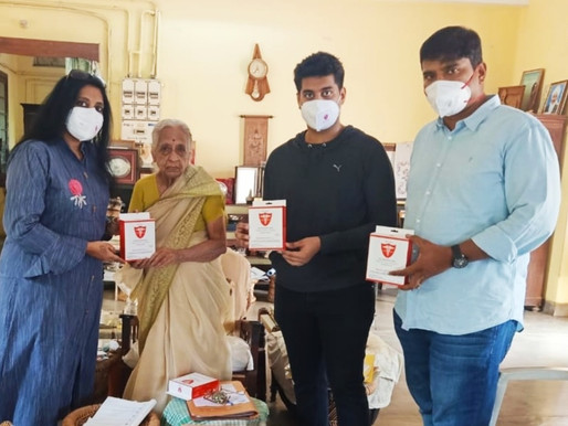 Maheshwara  Medical  College  & Hospital Distributes Free PPE  kits &  N95  masks to Tamil Nadu
