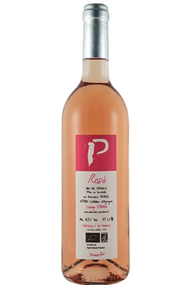 """Rosé """"Cépage Syrah""""2019 BIO 75cl"""