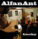 Alfanant CD Cover 'Lucky'