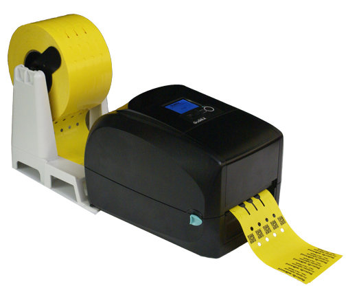SG4 - Flat Head Thermal Printer with Nursery Label Unwinder