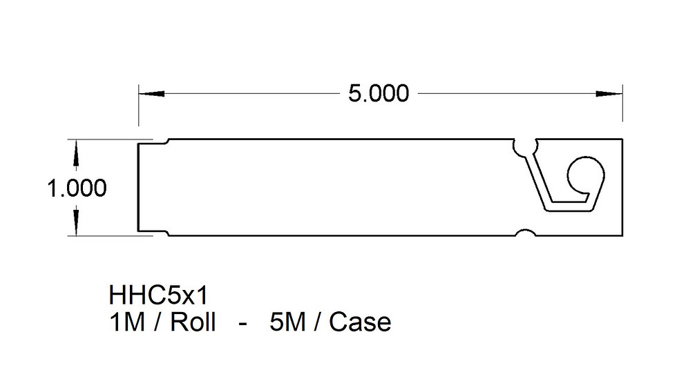 5X1  PREMIUM CLIP-ON HANG TAG (5,000)