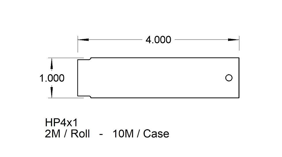 4x1 Hang Tags  (10,000)