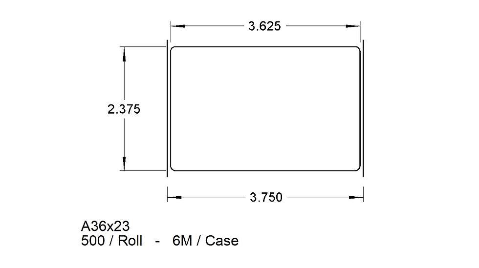 A36X23 ADHESIVES   (6,000)