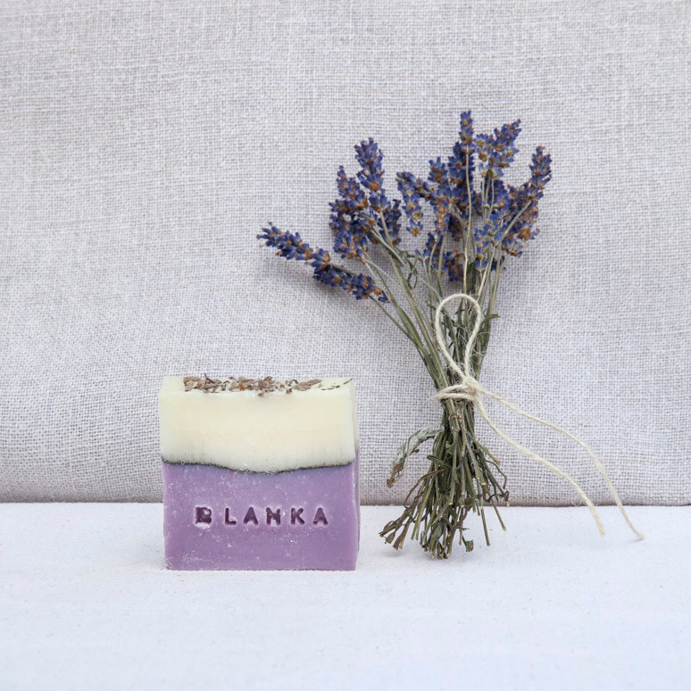 Peace and quiet - Lavender, bergamot and vetiver soap