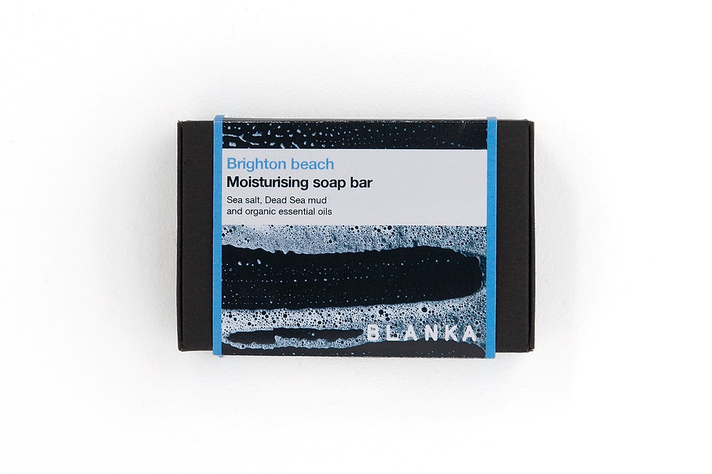 Brighton Beach | sustainable SPA-style soap bar with sea salt and dead sea mud