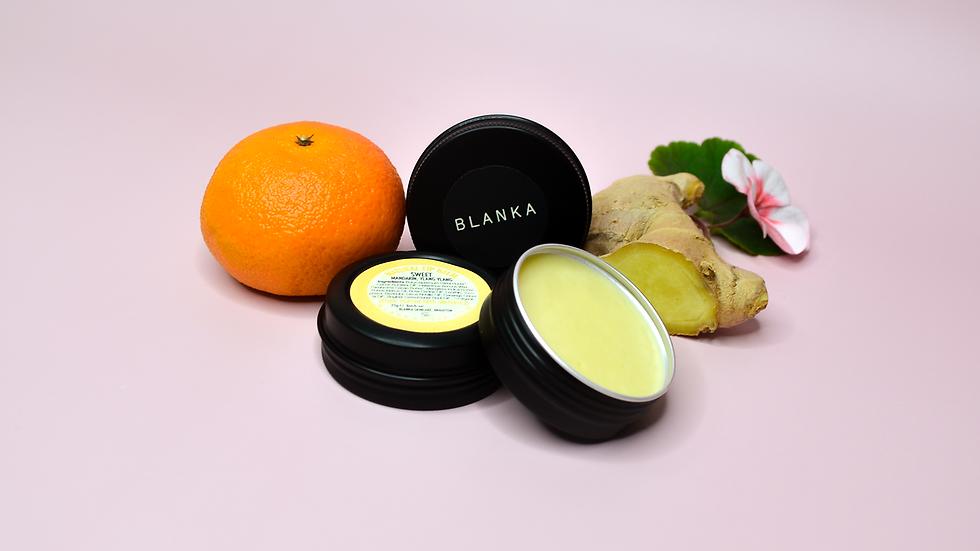 Sweet Vegan Lip Balm - Mandarin, Ylang ylang and Plai