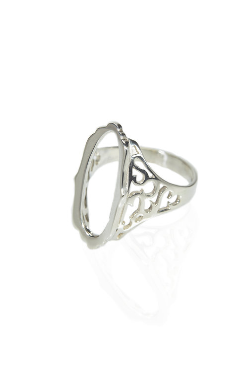 Mirror Hollow Ring
