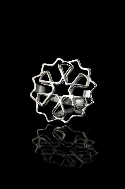 Small double layered ring