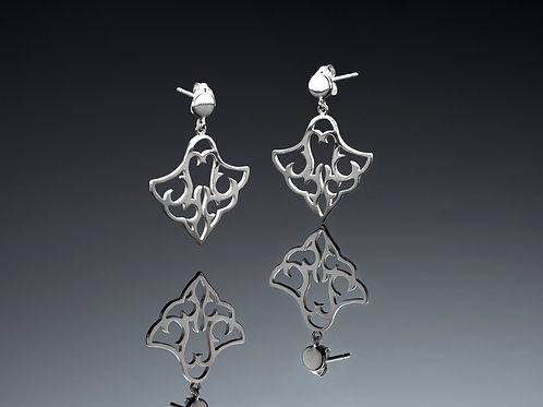 Small dangling earrings