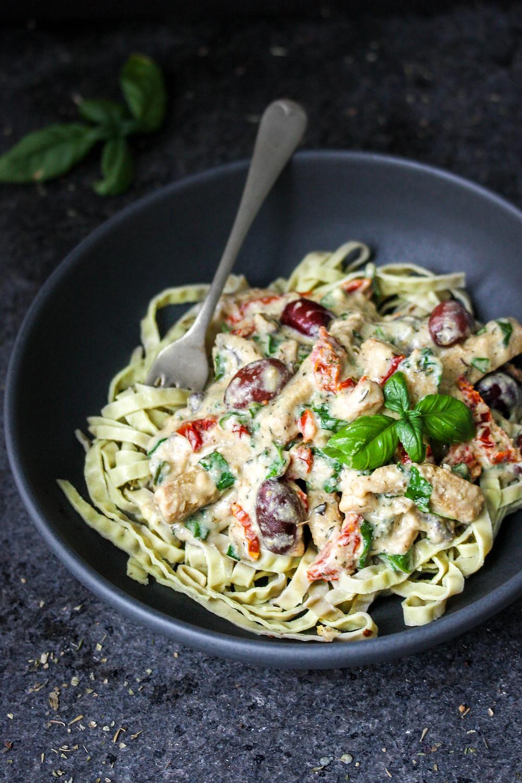Healthy Vegan Creamy Italian Pasta Sauce
