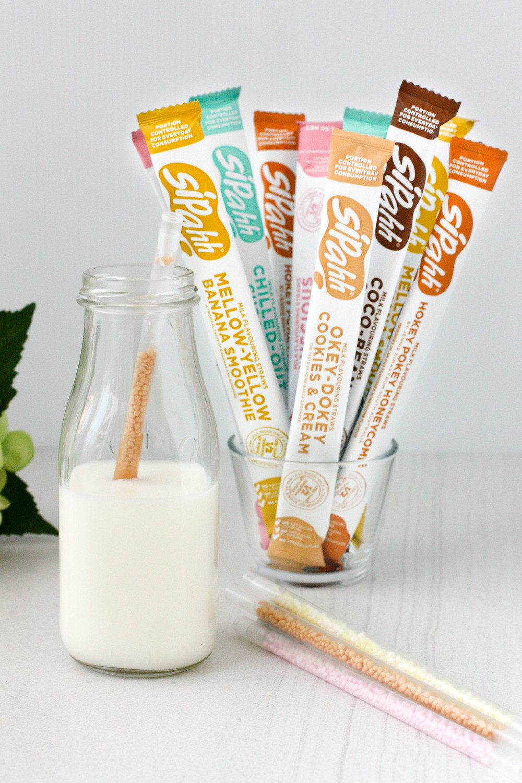 Sipahh Milk Flavouring Straws
