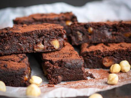 Choc Hazelnut 'Notella' Brownies