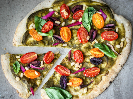 Healthy Fast Food Pizza