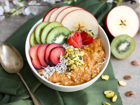 Carrot & Apple Pie Oats