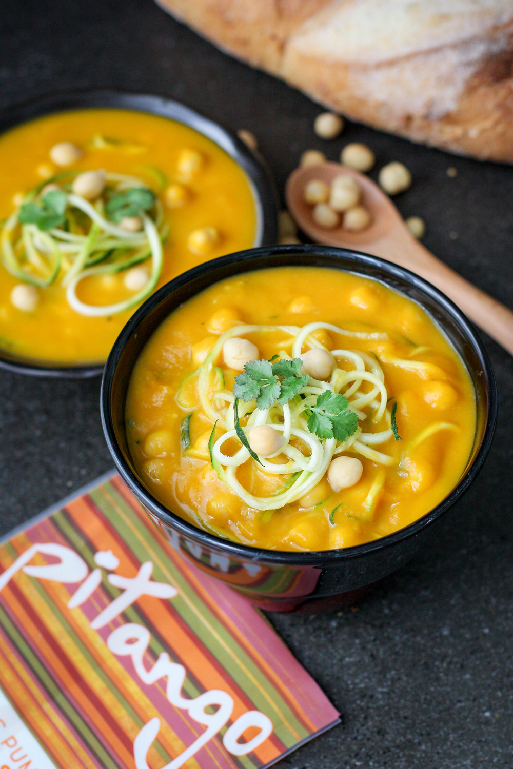 Pitango Pumpkin and Ginger Soup